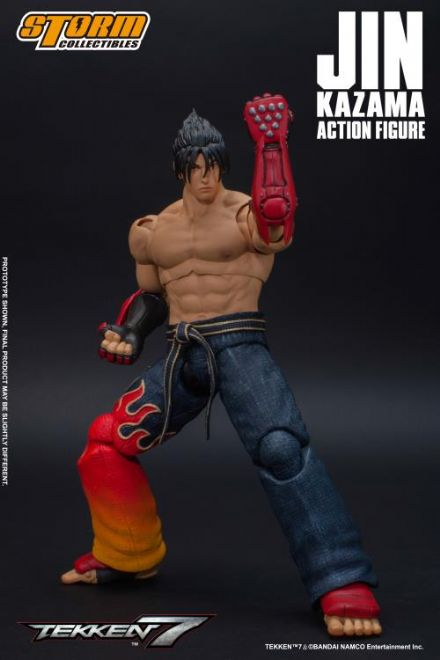 Storm Collectibles Tekken 7 1/12 Scale Jin Kazama Action Figure